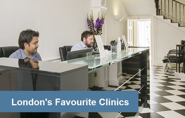 An image of Harley Street Health Centre Reception